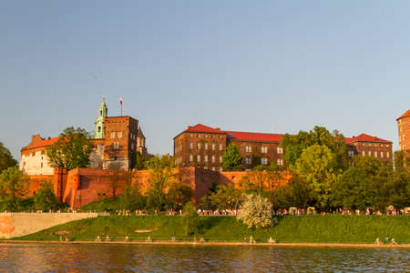 Royal castle in Wawel, Krarow photo