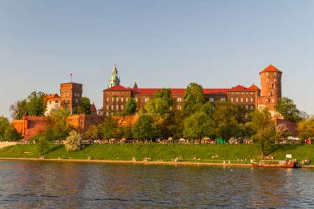 Royal castle in Wawel, Krarow