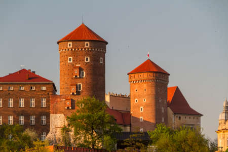 Royal castle in Wawel, Krarow