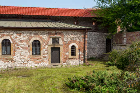 Old Synagogue in historic Jewish Kazimierz district of Cracow, Poland Stock Photo - 14363227