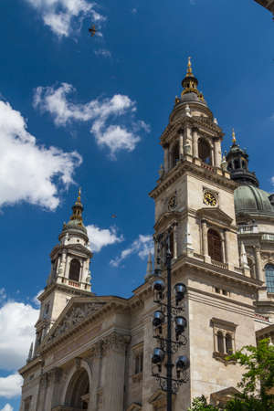 St. Stephens Basilica in Budapest, Hungary photo