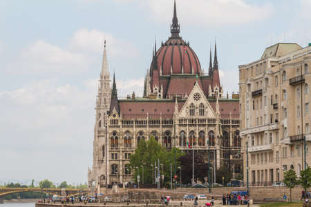 Budapest, the building of the Parliament (Hungary) photo