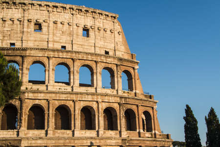 Colosseum in Rome, Italy photo