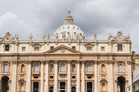 Basilica di San Pietro, Rome Italy Stock Photo - 14363795