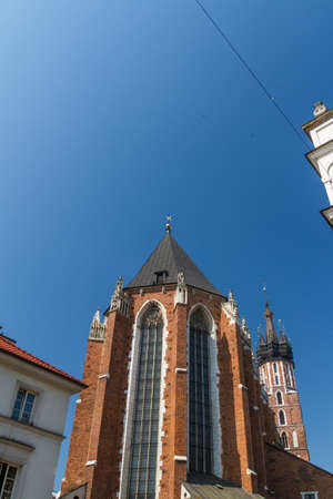 St. Mary's Basilica in Krakow, Poland Stock Photo - 14428104