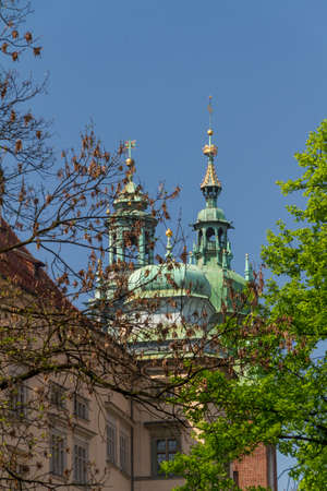 historic building in Krakow. Poland photo