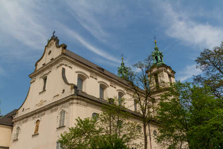 Cathedral in old town of Cracow photo