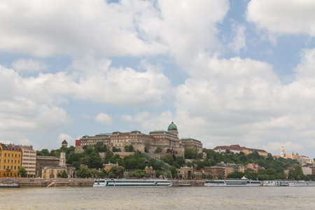 view of landmarks in Budapest photo
