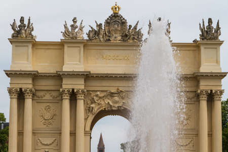Brandenburg Gate from Potsdam, Berlin, Germany photo