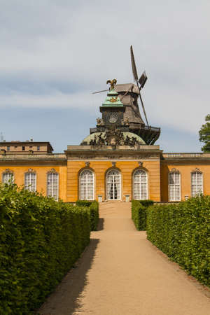 South facade of Sanssouci Picture Gallery in Potsdam, Germany photo