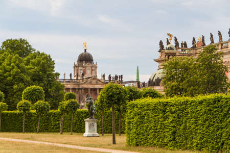 The New Palace in Potsdam Germany on UNESCO World Heritage list photo