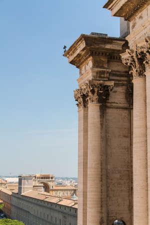 Basilica di San Pietro, Rome Italy photo