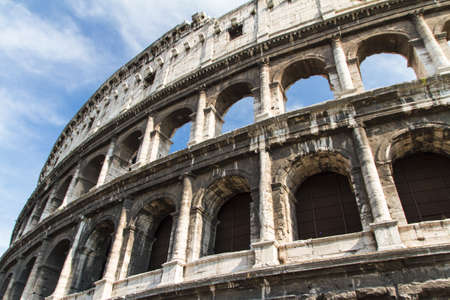 The Colosseum in Rome, Italy photo
