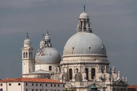 The Basilica Santa Maria della Salute in Venice photo