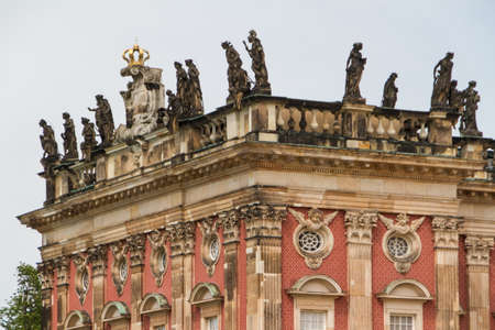 The New Palace of Sanssouci royal park in Potsdam, Germany