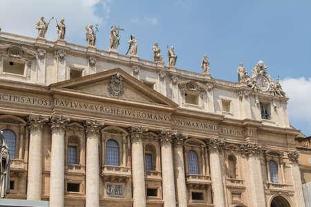 Basilica di San Pietro, Rome Italy Stock Photo - 14592780
