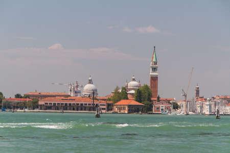 view of San Giorgio island, Venice, Italy, EU