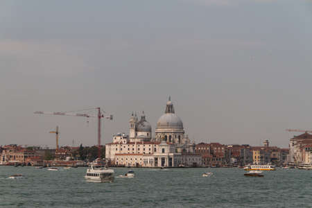 The Basilica Santa Maria della Salute in Venice Stock Photo - 15507953