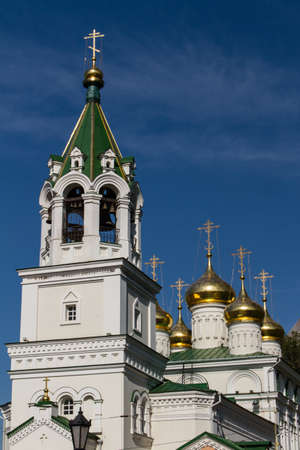 reverent: John the Baptist church, Nizhny Novgorod, Russia