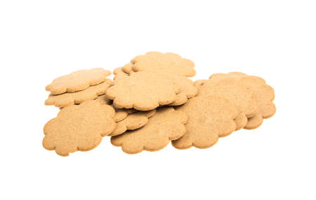 sweet cookies isolated on a white background Stock Photo - 16099740