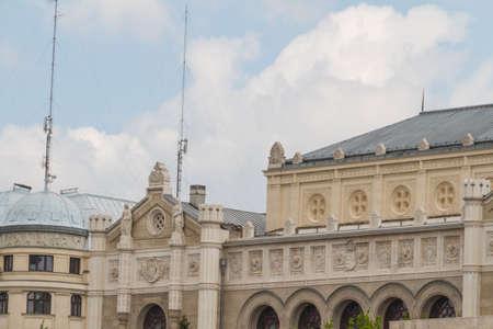 buda: b�timents typiques du 19e si�cle dans le ch�teau de Buda arrondissement de Budapest �ditoriale