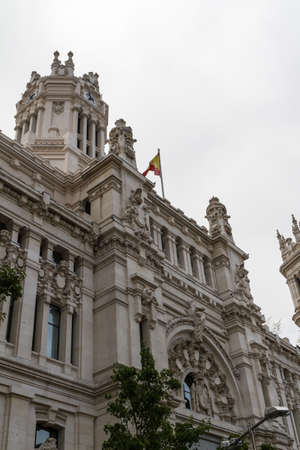 Plaza de Cibeles, Madrid, Spain photo