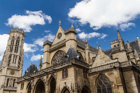 The Church of Saint-Germain-l'Aux errois, Paris, France Stock Photo - 16397410