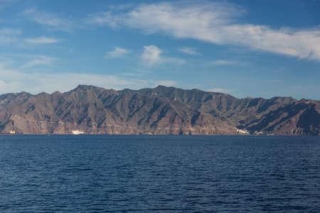 Cliffs of the Los Gigantes (Acantilados de los Gigantes) Tenerife, Spain Stock Photo - 16397022