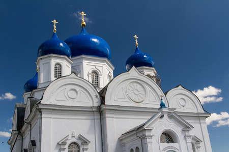 bogolyubovo: orthodoxy monastery in Bogolyubovo Stock Photo