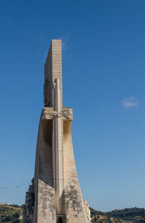 The monument for the conquerers is a famous sight in Lisbon / Portugal Stock Photo - 16507133