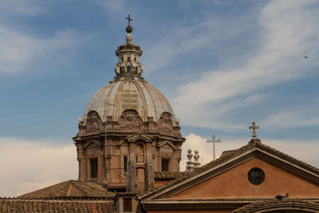 Great church in center of Rome, Italy. Stock Photo - 16574304