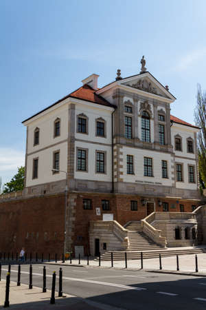 chopin: Museum of Frederick Chopin. Baroque palace in Warsaw.. Famous Dutch architect Tylman van Gameren.