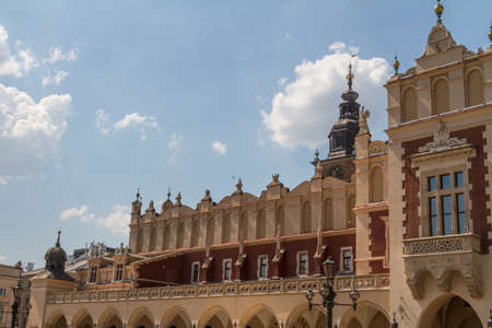 Sukiennice building in Krakow, Poland Stock Photo - 16606648