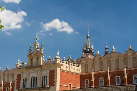 Sukiennice building in Krakow, Poland Stock Photo - 16698982
