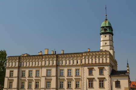 The 15th-century Town Hall amid Kazimierz's Plac Wolnica central square photo