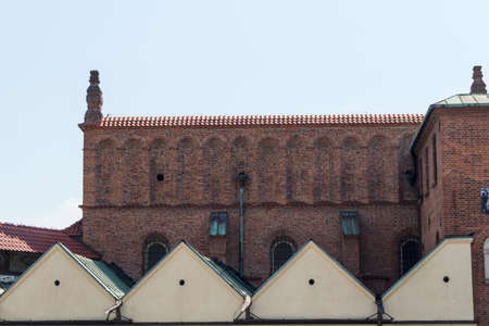 Old Synagogue in historic Jewish Kazimierz district of Cracow, Poland photo