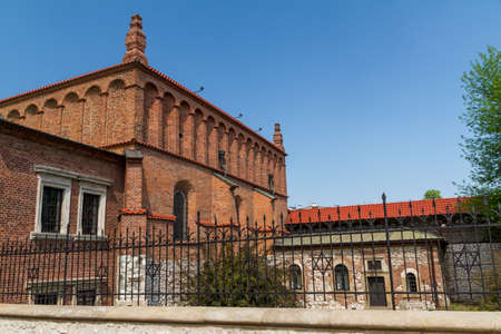 cracow: Old Synagogue in historic Jewish Kazimierz district of Cracow, Poland