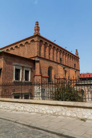 kazimierz: Old Synagogue in historic Jewish Kazimierz district of Cracow, Poland