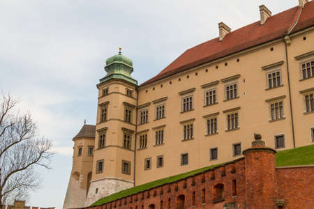 wawel: Royal castle in Wawel, Krakow