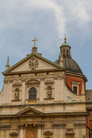 Church of Saints Peter and Paul in the Old Town district of Krakow, Poland Stock Photo - 16609414
