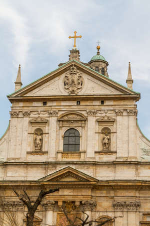Church of Saints Peter and Paul in the Old Town district of Krakow, Poland Stock Photo - 16609327