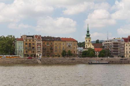 buda: immeuble typique du 19�me si�cle dans le quartier du ch�teau de Buda de Budapest �ditoriale