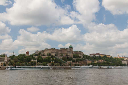 matthias: view of landmarks in Budapest Editorial