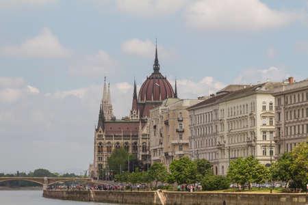 matthias: view of landmarks in Budapest Stock Photo
