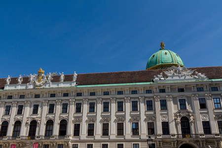 hofburg: Palais Hofburg et le monument. Vienna.Austria.