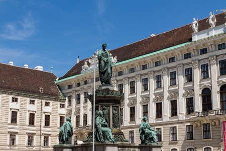 hofburg: Palais imp?rial et le monument. Vienna.Austria.