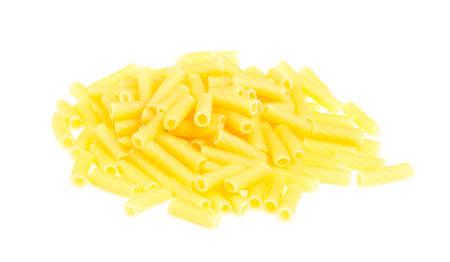 macro closeup of penne pasta background texture Stock Photo - 16619458