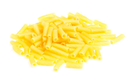 macro closeup of penne pasta background texture Stock Photo - 16619702
