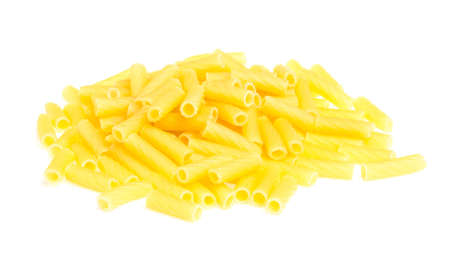 macro closeup of penne pasta background texture Stock Photo - 16619628