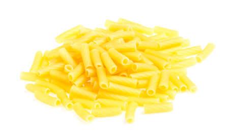 macro closeup of penne pasta background texture Stock Photo - 16619673